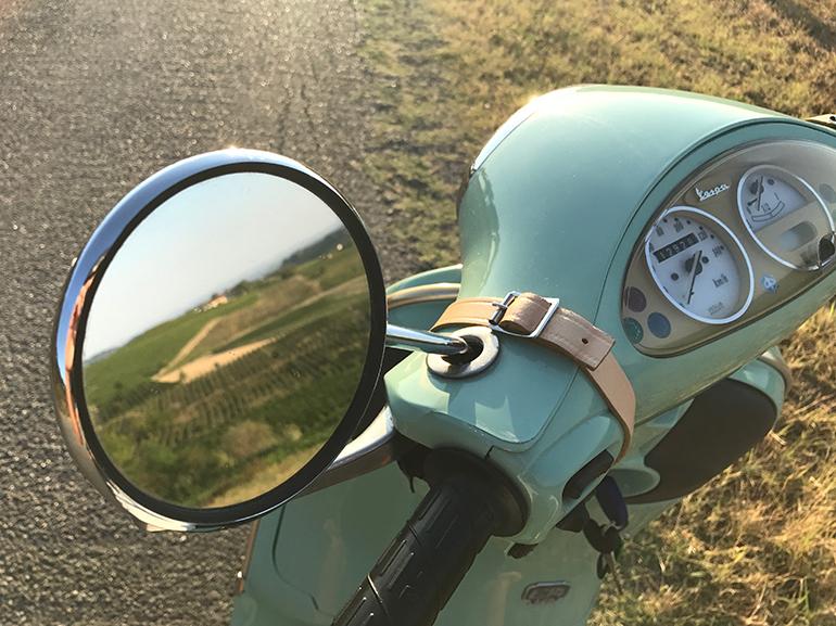 Vespa mirror 770P43